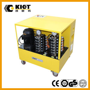 Integrated Solutions Kiet PLC Synchronous Hydraulic Lifting System pictures & photos