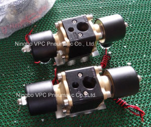 "160-4f Manifold Valve with 1/4"" Bag Ports & 4 1/4"" Gauge Ports Fbss Air Ride Bags pictures & photos"