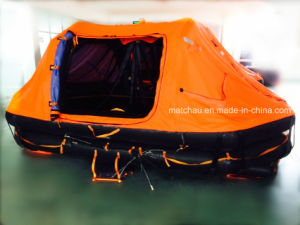 Manufacture Supply Throw Overboard Inflatable Life Raft pictures & photos