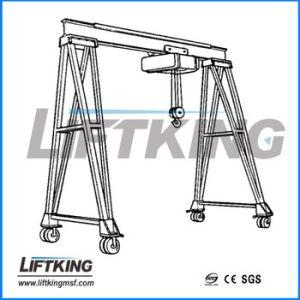 2t Mobile Double Girder Beam Box Crane, Gantry Crane pictures & photos