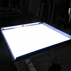 Edge-Lit Light Guide Panel for LED Light Box