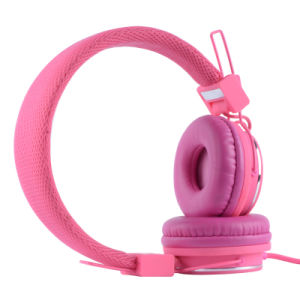 Pink Color Stereo Headphone for Children (RMC-303) pictures & photos