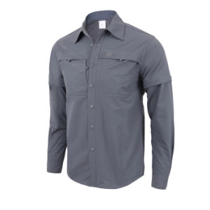 Wholesale Men′s Tactical Quick-Drying Long-Sleeved Shirt pictures & photos