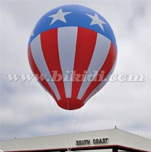 Bulb Advertising Inflatable Balloon, Flag Helium Balloon, UAE National Day Balloons, Balloon with Flag pictures & photos