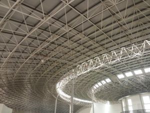 Space Frame Aesthetic Prefabricated Basketball Gym pictures & photos