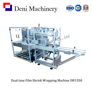 Dual-Lane Film Shrink Packaging Machine for Cartons pictures & photos