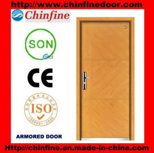 Modern Style Steel-Wood Armored Doors (CF-M041) pictures & photos