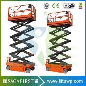 8m, 300kg Self Propelled Electric Lift Platform Scissor Lifter pictures & photos