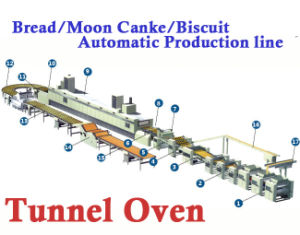 Tunnel Oven, Food Production Line, Bread Cake Production Line. Real Factory Since 1979 pictures & photos