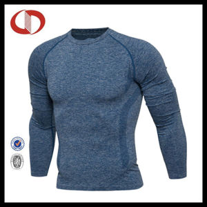 Long Sleeve Blank Compression Shirt Spadex T Shirt pictures & photos