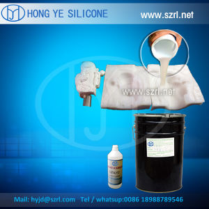 Molding Silicone Rubber for Gypsum Products Making with High Tear Strength pictures & photos