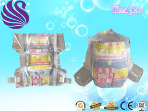 Breathable Backsheet Baby Diaper with Good Quality pictures & photos