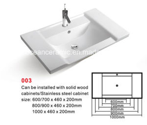 Cabinet Basin (No. 003) , Ceramic Wash Sink pictures & photos