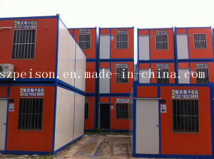 Newest Folding Mobile Prefabricated/Prefab Container House for Living pictures & photos