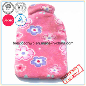 Coral Fleece Hot Water Bottle Cover pictures & photos