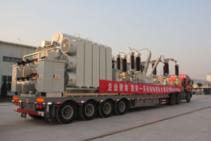 Distribution Emergency Power Transmission 132kv Prefabricated Mobile Substation pictures & photos