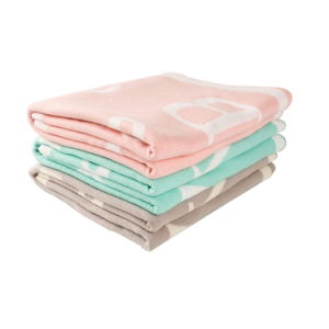 Light Weight Reversible Cotton Knit Baby Blanket CB-K16014 pictures & photos