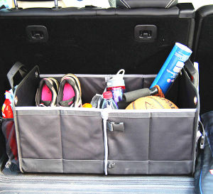 Car Organizer&Car Accessories with 600d Polyester