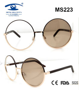 High Quality Latest Fashion Metal Sunglasses (MS223) pictures & photos