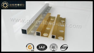 Aluminum Box Tile Edge Trim Profile (Silver Gold Anodized) pictures & photos