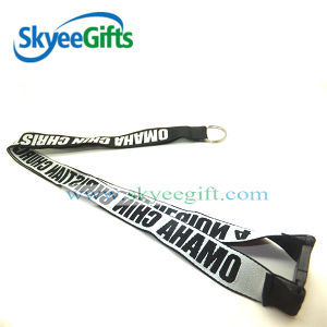 Polyester Lanyard with Screen Printing pictures & photos