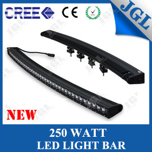 250W 50′′ CREE LED Curved Light Bar for Jeep/ATV/SUV/4WD