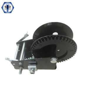 2500lbs Hand Winch Powder Coating High Quality pictures & photos