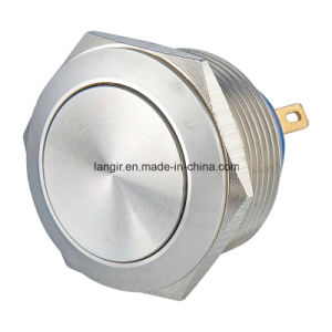 22mm Stainless Steel Pushbutton Switch with Pin Terminal Waterproof pictures & photos