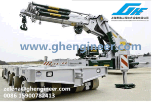 Indoor Mini Telescopic Knuckle Boom Mobile Truck Crane pictures & photos