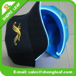 Promotional Cotton LED Cap with Embrioder or Heat Tranfer Printing pictures & photos
