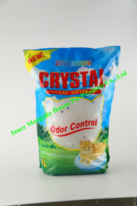 Cleaning and Dust Less Slical Gel Cat Litter pictures & photos