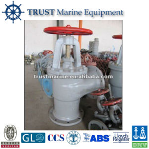 Marine Cast Steel Suction Sea Valves pictures & photos