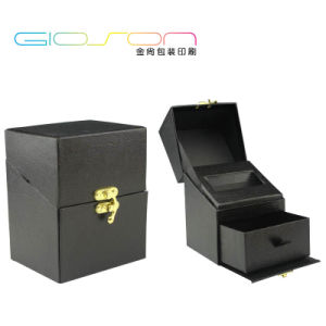 Synthetic Leather Gift Box/ Cardboard Packaging Box for Presents pictures & photos