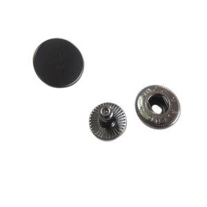 Engraved Logo Snap Button Designer Clothing Metal Buttons Manufacturer pictures & photos