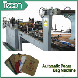 Kraft Paper Bag Making Machine with 4 Colors Printing in Line pictures & photos