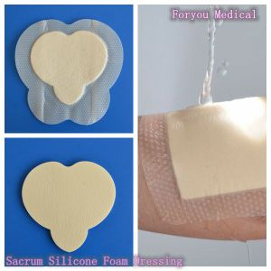 Super Absorbent Dressings Wound Care Foam Dressings with Silicone pictures & photos