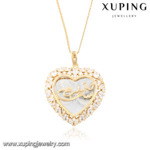 32684 Fashion Cubic Zirconia Jewelry Necklace Pendant in Heart-Shaped pictures & photos