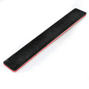 Black Square Big Size Nail File with Print Client Logo pictures & photos