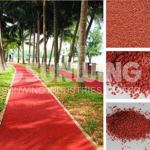 PVC EPDM Granule Rubber Roofing Mat pictures & photos
