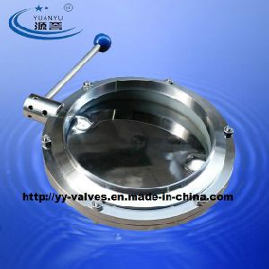 Stainless Steel Sanitary Butterfly Valve (DN15-DN600) pictures & photos