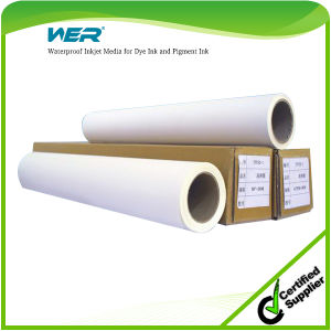 Good Quality Waterproof Inkjet Media Canvas for Dye Ink & Pigment Ink pictures & photos