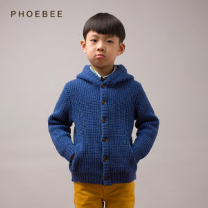 Phoebee Wool Baby Boys Clothing Children Clothes for Winter pictures & photos