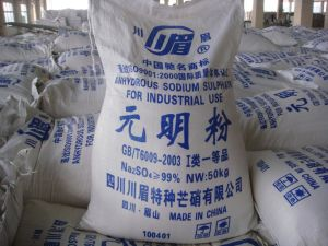 Sodium Sulphate Anhydrous / Ssa / Na2so4 for Washing Powder pictures & photos