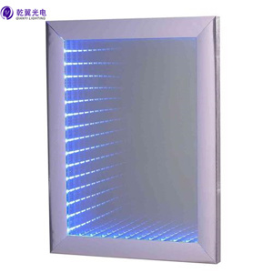 LED Backlit Bathroom Wall Mirror Light with 3D Effect Light (QY-M1110)