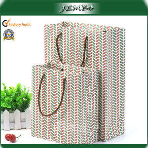 High Quality Recycled Tote Handle Paper Gift Bag pictures & photos