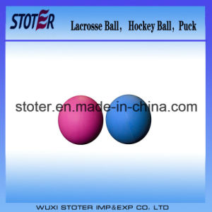 Popular High Density Lacrosse Hockey Ball pictures & photos