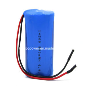 7.4V Digital Meter Lithium Battery with SANYO 18650