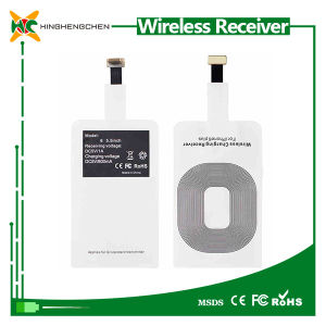 Qi Universal Wireless Charger Receiver for iPhone pictures & photos