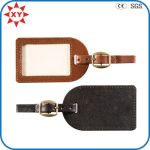 Factory Custom Free Mold Leather Luggage Tag pictures & photos
