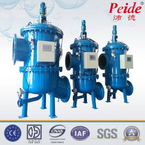 Industrial Back-Flushing Water Filter Water Treatment Automation System pictures & photos
